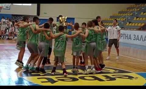 Баскетболният Берое е шампион при момчетата U12
