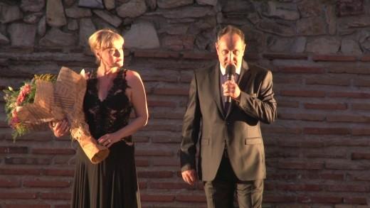 Тържествен концерт, посветен на 95 годишнината на Старозагорската опера събра стотици на Античния форум