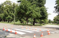 Обновяват пешеходните пътеки около училища и детски градини в Стара Загора
