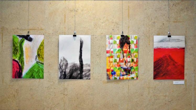 Книгата, текстът и буквата оживяха в изложба на студенти от Тракийски университет