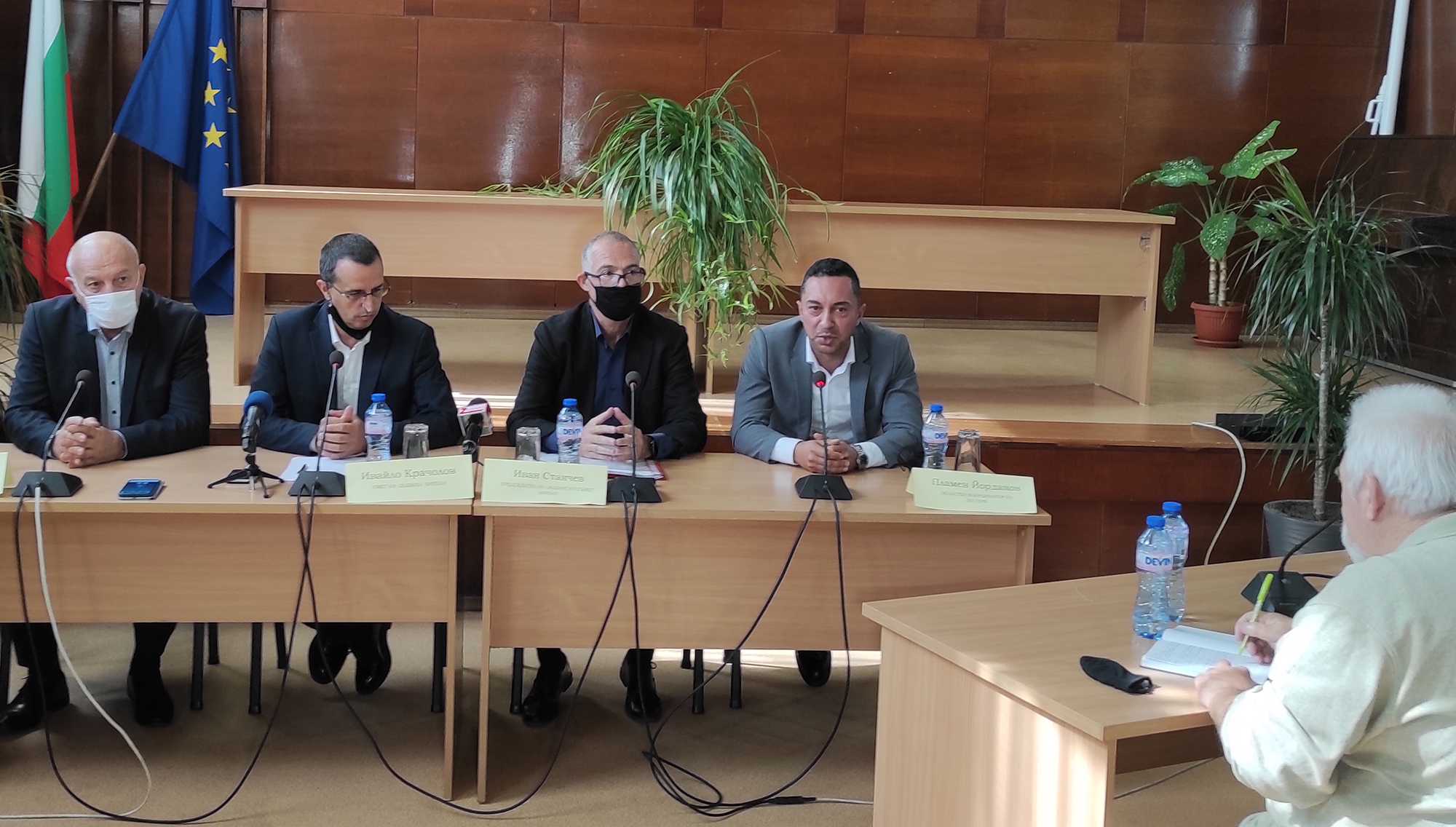 Пламен Йорданов: Спазихме обещанието за една година да решим важни проблеми на хората в Чирпан