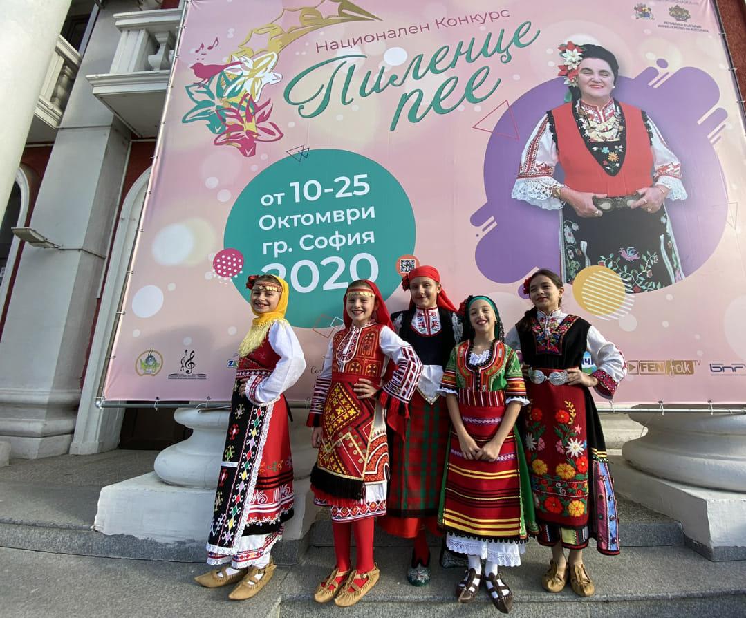 """Шест национални награди за детско-ношески народен хор """"Жарава"""""""