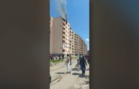 Авария в горивната инсталация на ТЕЦ Брикел е причина за гъстия черен дим в град Гълъбово