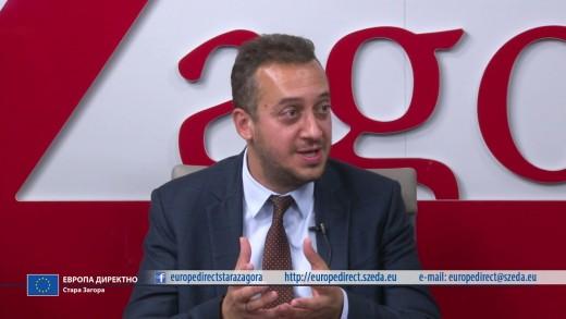 ЕВРОПА ДИРЕКТНО – предаване на ТВ ЗАГОРА – 18 май