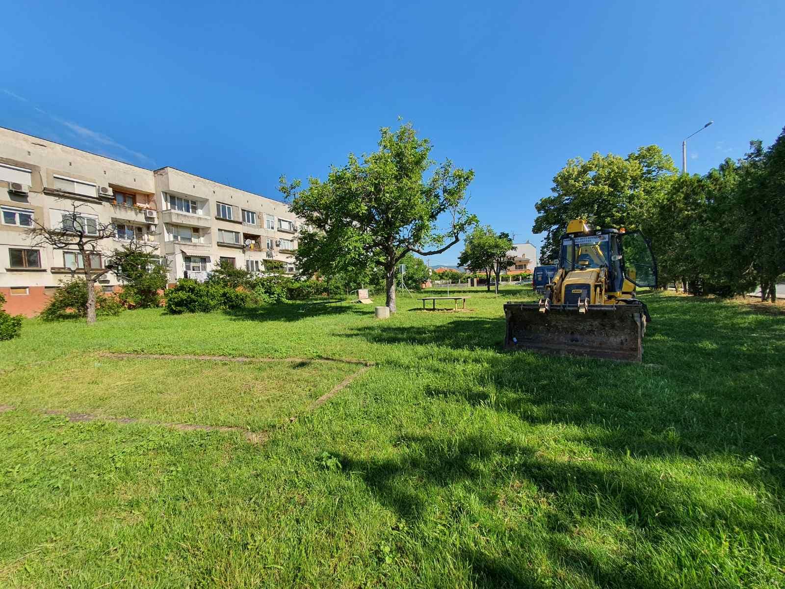 "Изграждат нова детска площадка в старозагорския квартал ""Кольо Ганчев"""