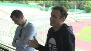 Димитър Бербатов на среща с футболни деятели в Стара Загора