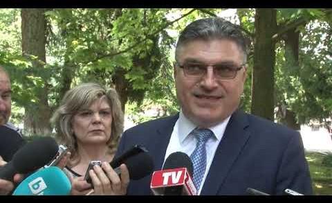 Изявление на служебния министър на отбраната Георги Панайотов в Стара Загора