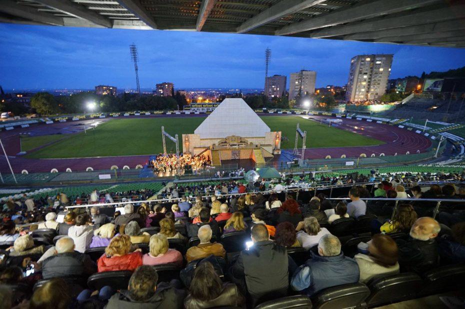 """""""Аида"""" от Джузепе Верди ще бъде представена на стадион """"Берое"""" на 10 юли"""