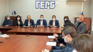 Красимир Вълчев, водач на листата на ГЕРБ – СДС в Старозагорски избирателен район: Отговорността за всички кризи е на Румен Радев