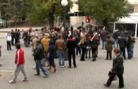 Старозагорци протестираха срещу поскъпването на винетките
