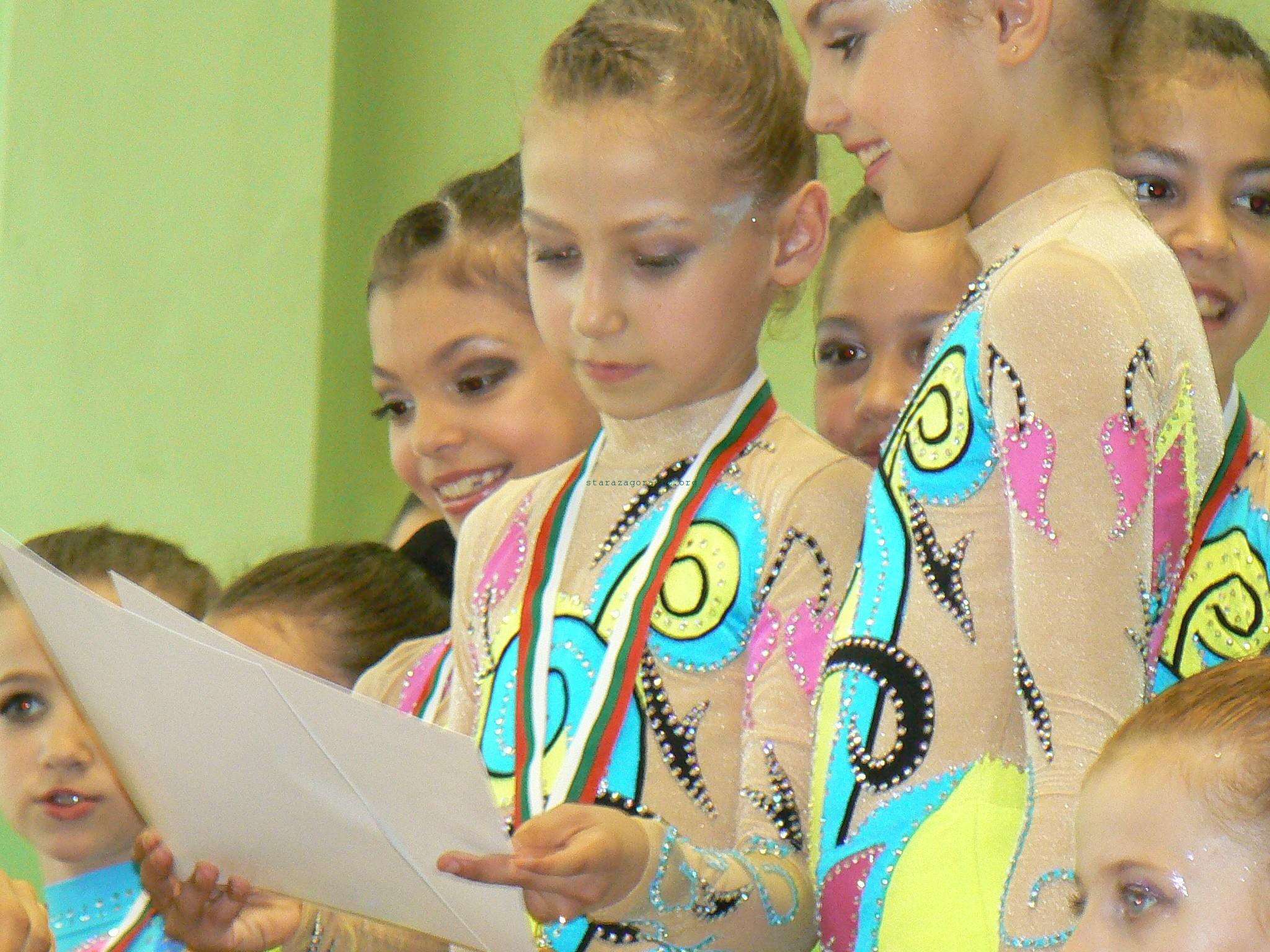 """Старозагорски гимнастички на квалификация за """"Елит"""""""