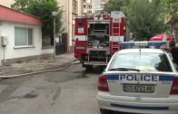 Жена пострада при пожар