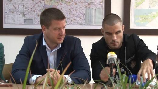 Кметът Живко Тодоров се срещна с ММА боеца Георги Валентинов