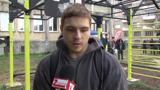 Йордан Йовчев гостува на масово състезание по street workout