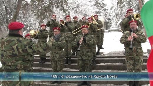Стара Загора отбеляза 169 години от рождението на Христо Ботев