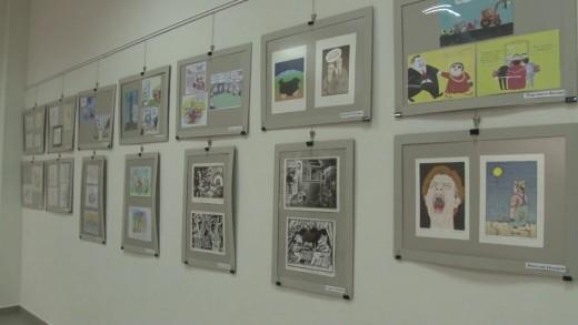 """Изложба по повод 70-годишнината на в.""""Стършел"""""""