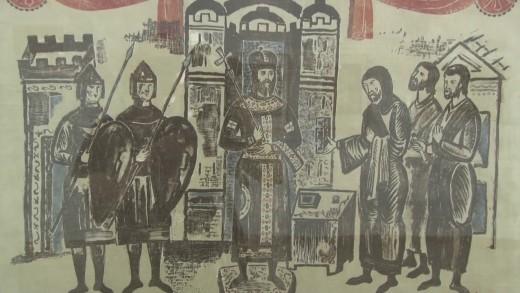 50 творби на тема Българското средновековие в Художествената галерия на Стара Загора