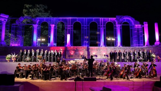 choir and orchestra of State opera St. Zagora