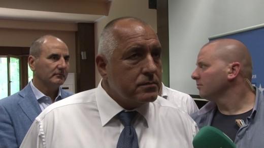 Б. Борисов пред медии в Стара Загора – за пари, избори, енергетика
