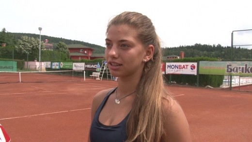 Дария Радулова на финал