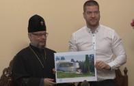 Официално подписване на договора за дарение на бившия ресторант на Аязмото от община Стара Загора на Старозагорска митрополия