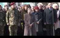 Общоградски ритуал с поднасяне на венци и цветя пред паметника на Апостола на свободата Васил Левски.