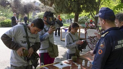 Отборът на Шесто основно училище спечели състезание за защита при бедствия в Стара Загора