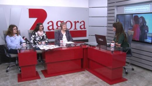 """Разговор с представители на клуб """"Млад журналист"""" в Стара Загора"""