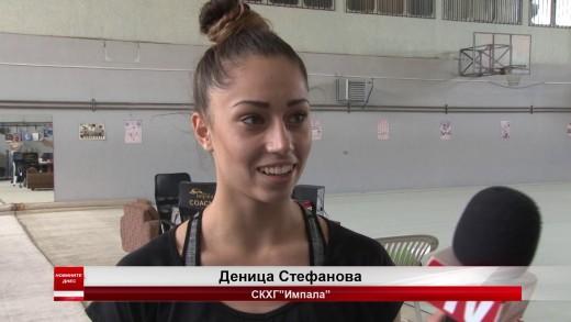 """Деница Стефанова от СКХГ """"Имапала""""  спечели титлата в многобоя на шампионата по художествена гимнастика"""
