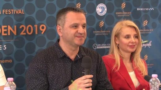 """Заключителна пресконференция на Международния филмов фестивал """"Златната липа"""".Журито обявява наградените филми."""
