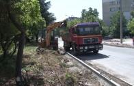 Активни ремонтни дейности на ключови пътни артерии в Стара Загора