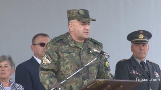 """Тържествен ритуал по изпращане на 39-ти контингент от Българската армия за участие в операцията на НАТО """"Решителна подкрепа"""" в Афганистан"""