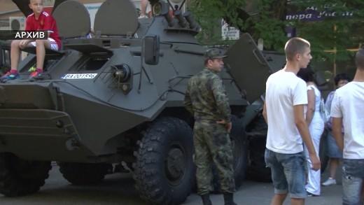 Демонстрация на военна техника