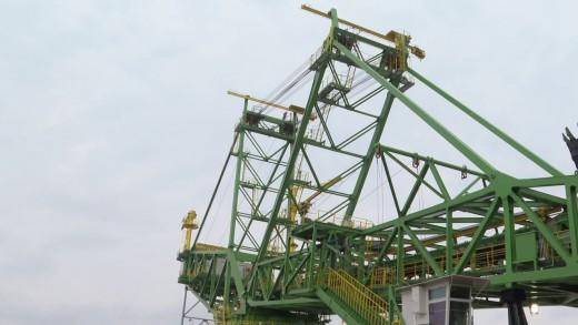"""""""Мини Марица-изток"""" въведе в експлоатация нов роторен багер"""