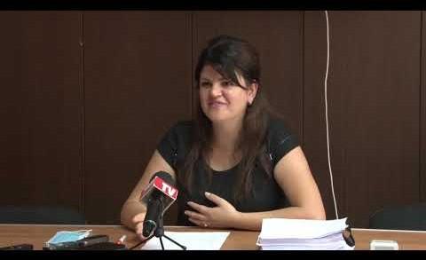 Пресконференция на председателя на Общински съвет Стара Загора Мария Динева. Темата предстоящата сесия на Общински съвет Стара Загора.