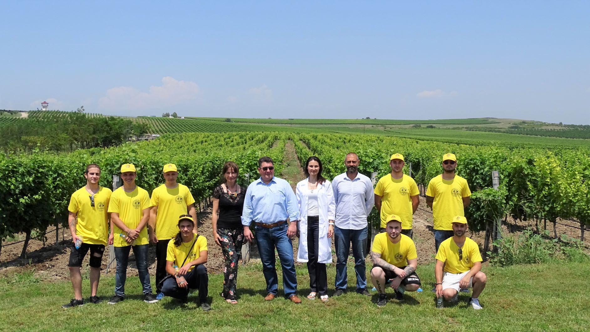 Студентите от Аграрния факултет на Тракийски университет се обучават в най-модерните ферми в страната