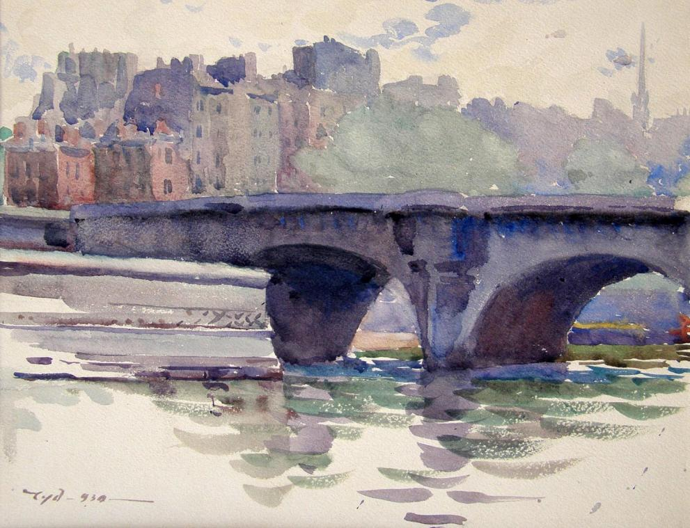 Акварелните пейзажи на Димитър Чорбаджийски- Чудомир  /1890-1967/ ще бъдат представени в изложба