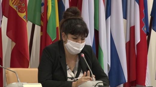 Пресконференция на председателя на Общински съвет Стара Загора Мария Динева и председателите на временните комисии за проверка на общинските търговски дружества.