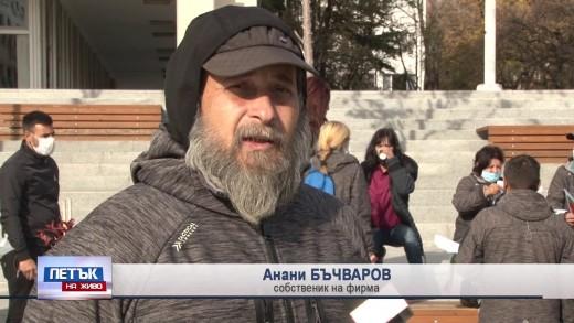 Защо протестирате? Питаме Анани Бъчваров, собственик на фирма за чистота