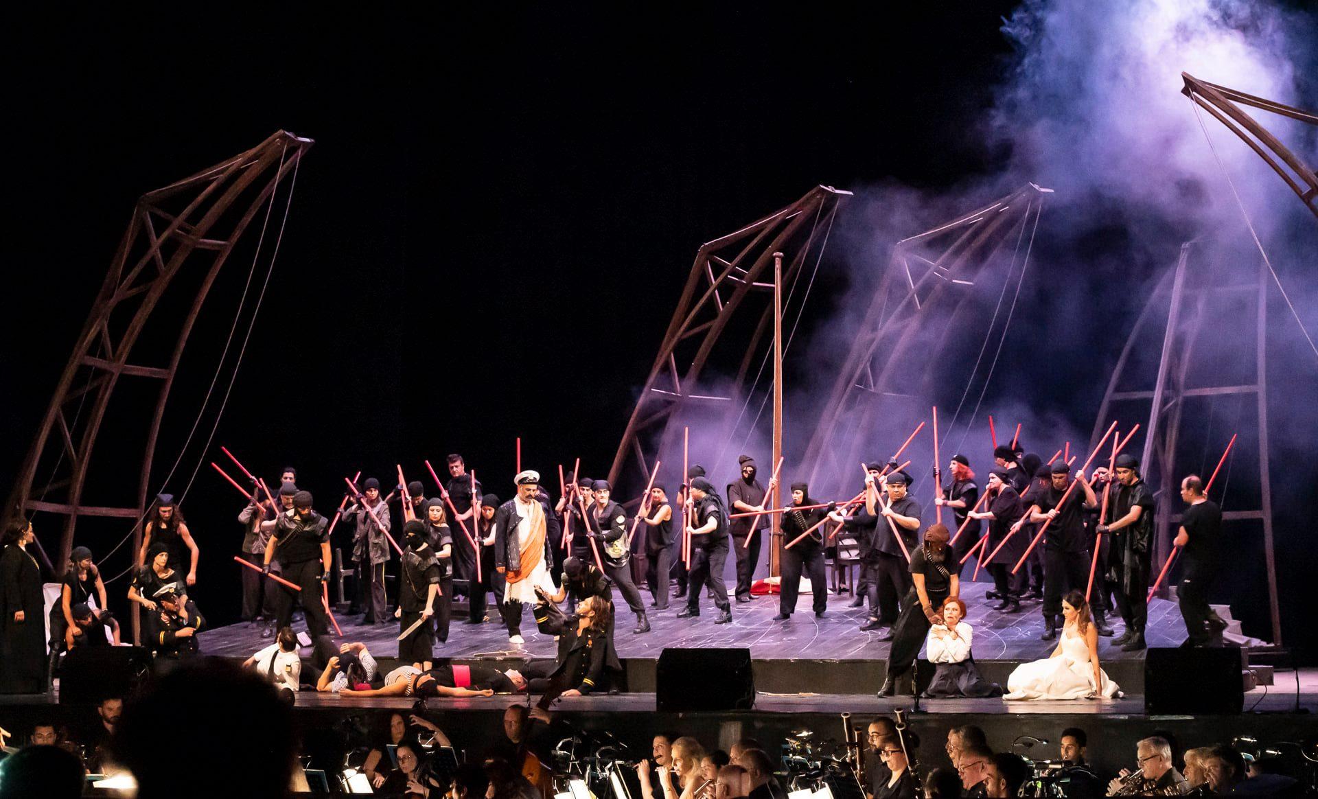 """""""Африканката"""" на Държавна опера-Стара Загора  с номинация за  Културно събитие на извънредната 2020"""