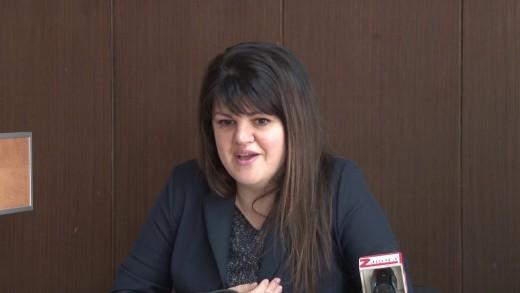Пресконференция на председателя на Общински съвет- Стара Загора Мария Динева. Темата – предстоящата сесия на местния парламент.