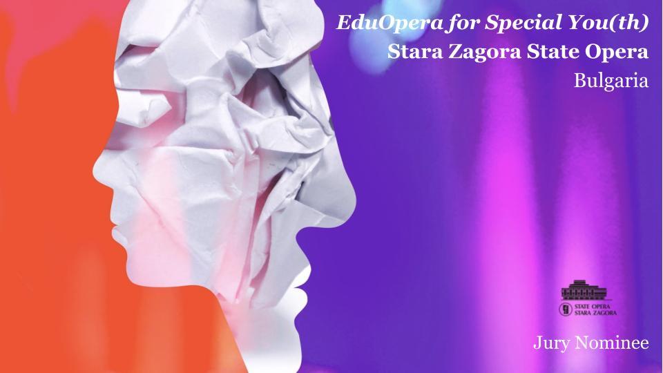 Старозагорската Опера влиза в Топ 10 на Европейската надпревара за оперни образователни проекти
