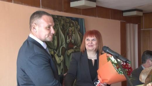 Тържествена клетва на новоизбрания кмет на Община Мъглиж – д-р Душо Гавазов  5 март 2021