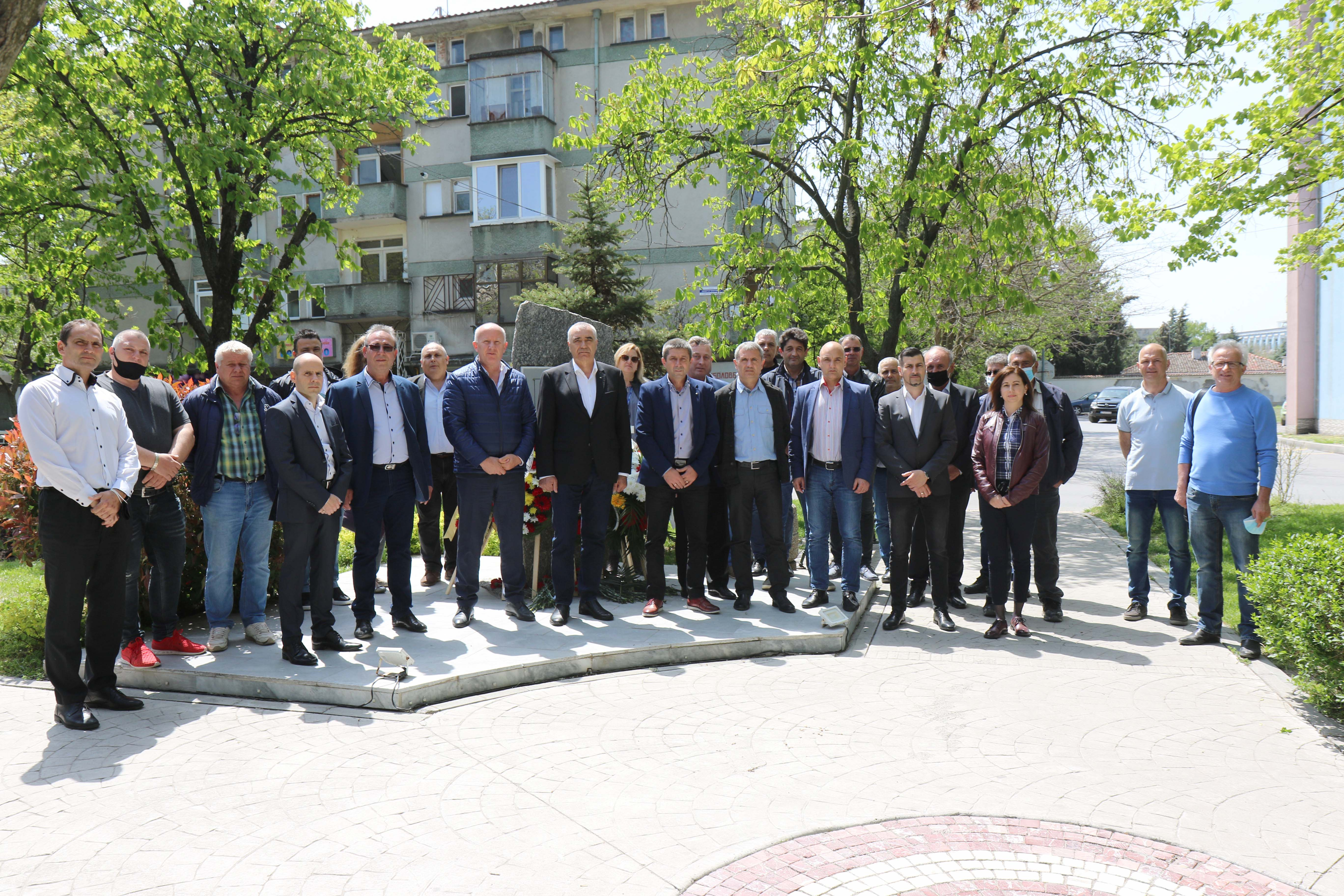 """В """"Мини Марица-изток"""" отбелязаха Световния ден за безопасност и здраве при работа"""