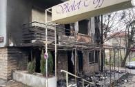 Изгоря кафене и три етажа над него в центъра на Стара Загора