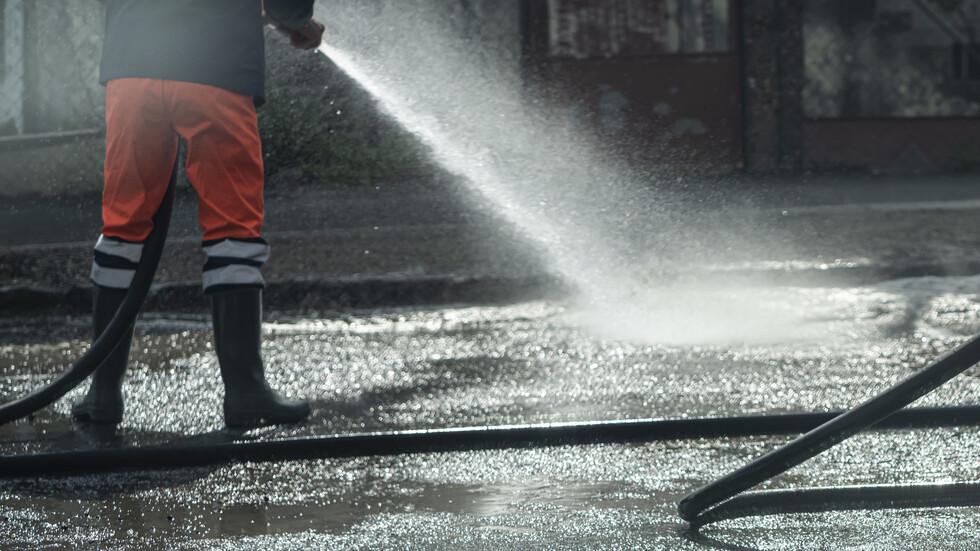 График за миене на улиците в Стара Загора