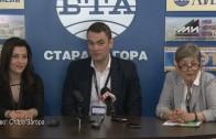 Пресконференция по повод Европейското първенство по лека атлетика (втора лига)