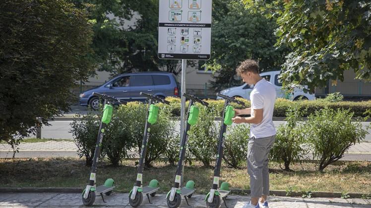 Нов екологичен начин на придвижване беше представен в Стара Загора