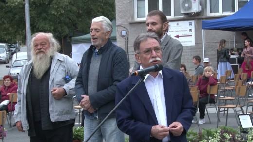 Паметник на големия художник Никола Манев събра приятели, роднини и почитатели в Чирпан