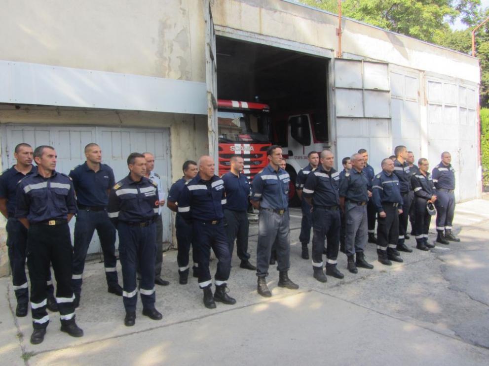 32-ма служители от РД ПБЗН – Стара Загора са наградени по повод професионалния празник на пожарникарите